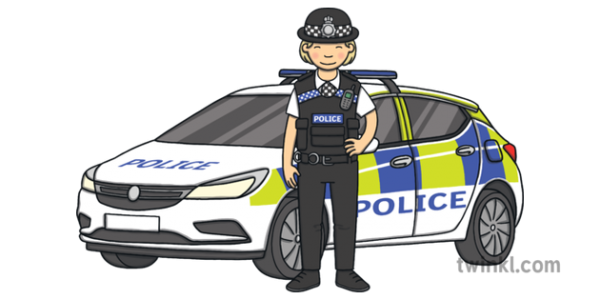 Police-Officer-Next-To-Police-Car---Law-Enforcement-PWHU-Vehicle-Uniform-UK-KS1